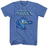 Mega Man- 8-Bit Charge T-Shirts