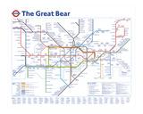 The Great Bear (el gran oso) Lámina giclée por Simon Patterson