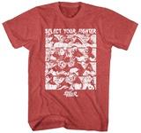 Street Fighter- Select Screen T-Shirt