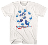 Mega Man- Water Shield Maglietta
