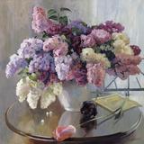 Flowers from Chopin Giclée-tryk af Valeri Chuikov