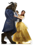 Belle and Beast - Beauty and the Beast Live Action Cardboard Cutouts