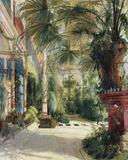 The Palm House Giclée-tryk af Karl Blechen