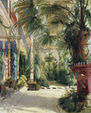 The Palm House Giclee Print by Karl Blechen