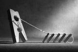 The Tug-Of-War Reproduction photographique par Victoria Ivanova