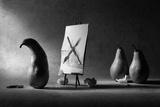 He Has a Painter's Block... Reproduction photographique par Victoria Ivanova