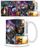 Guardians of the Galaxy - Comic Mug Taza