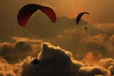Parapente Reproduction photographique par Yavuz Sariyildiz