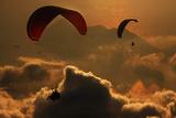 Paragliding Photographic Print by Yavuz Sariyildiz