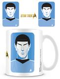Star Trek - 50th Anniversary Pop Spock Mug Taza