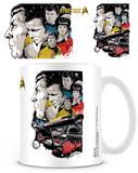 Star Trek - 50th Anniversary Boldly Go Mug Krus