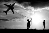 Fly My Plane Fotografisk trykk av  Trijoko