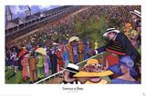 Chapeaux de Derby Print by Jeff Williams