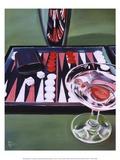 Backgammon Posters by Paul Kenton
