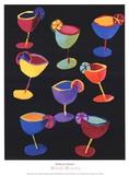 Midnight Margaritas Kunst von Kathryn Fortson