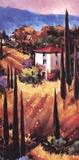 Collines de Toscane Affiches par Nancy O'toole