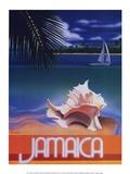 Jamaika Poster von Ignacio Zabaleta