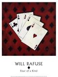 Vier von einer Sorte Kunstdrucke von Will Rafuse