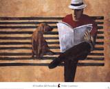 El Hombre del Periodico Art by Didier Lourenco