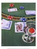 Blackjack Prints by Paul Kenton