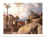 Camino del Faro Print by Didier Lourenco