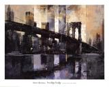 Pont de Brooklyn, New York Affiches par Marti Bofarull