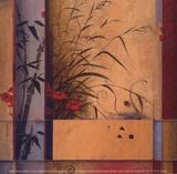 Partición de bambú Pósters por Don Li-Leger