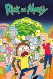 Rick & Morty- Cast of Emotions Kunstdrucke
