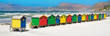 Awesome South Africa Collection Panoramic - Muizenberg Beach Cape Town II Fotografisk tryk af Philippe Hugonnard
