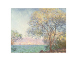 Morning at Antibes, 1888 Poster by Claude Monet