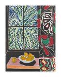 Interior with Egyptian Curtain, 1948 Affiches par Henri Matisse