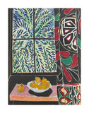 Interior with Egyptian Curtain, 1948 Print van Henri Matisse