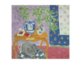 Interior with a Dog, 1934 Prints by Henri Matisse