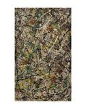 Number 3, 1949: Tiger, 1949 Plakater af Jackson Pollock