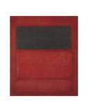 Black over Reds [Black on Red], 1957 Plakater af Mark Rothko