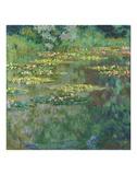 Le Bassin des Nympheas, 1904 Art by Claude Monet
