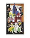New York Mural, 1932 ポスター : スチュアート・デービス