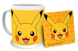 Pokemon Pikachu Mug and Coaster Set Krus
