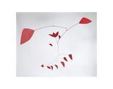 The Tulip, 1967 Posters av Alexander Calder