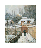 Snow at Louveciennes, 1874 Giclee Print by Alfred Sisley