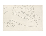 Young Woman with Face Buried in Arms, 1929 Lámina por Henri Matisse