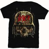 Slayer- Skull Collage Camiseta