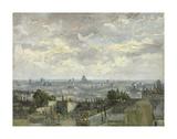 View of Paris, 1886 Print by Vincent van Gogh