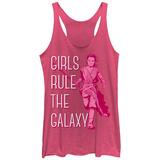 Juniors Tank Top: Star Wars: The Force Awakens- Girls Rule The Galaxy レディースタンクトップ