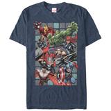 Marvel-The Avengers- Assemble Rush Tshirts