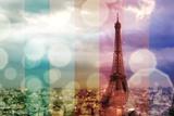 Paris in Lights Photographic Print by Emily Navas