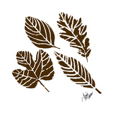Rustic Birch Trail Accent I Prints by Gina Ritter