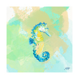 Watercolor Sea Creatures III Affiches par Julie DeRice