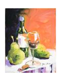 Pear Wine Prints by Jane Slivka