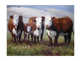 Home on the Range Posters by Carolyne Hawley